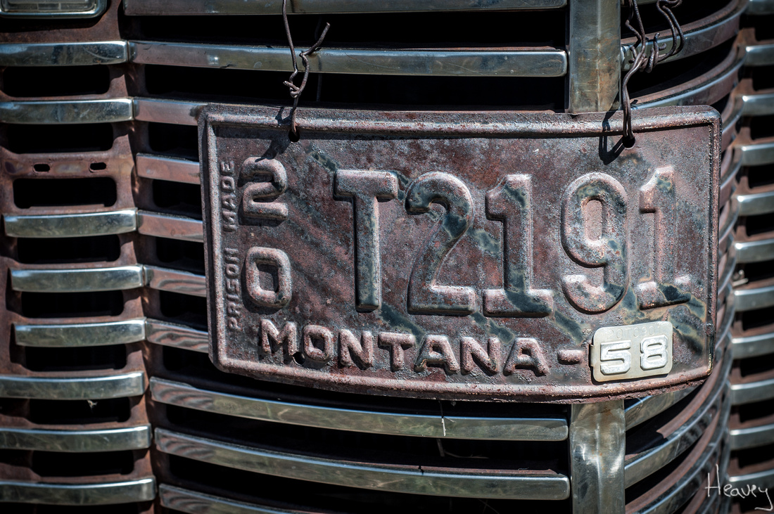 Sean R Heavey | The Curious History of Montana\'s Vintage License Plates